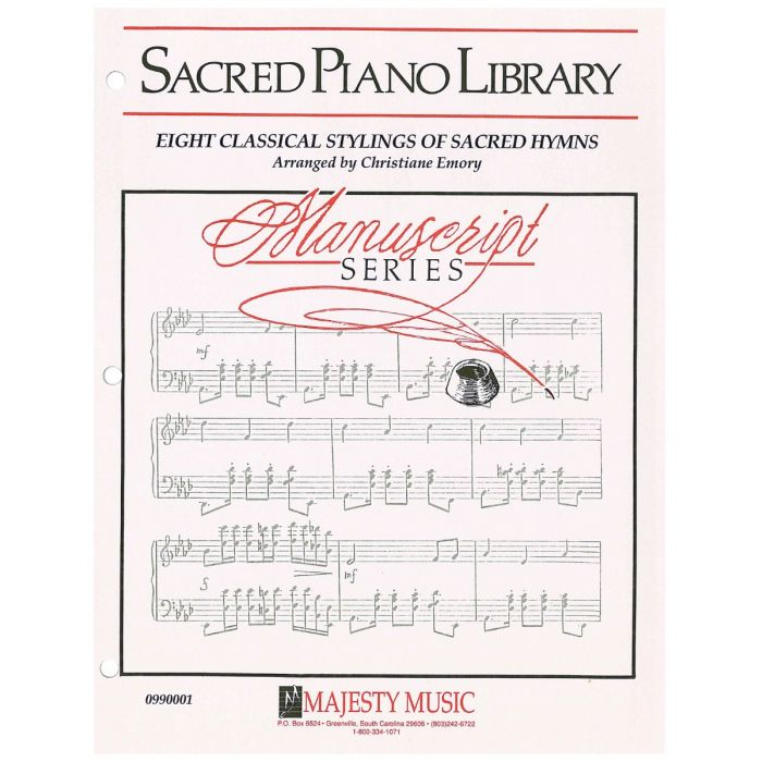 image about Printable Hymns Sheet Music known as Mcript Sequence: 8 Clical Stylings of Sacred Hymns - Piano Sheet Audio - Printable Obtain