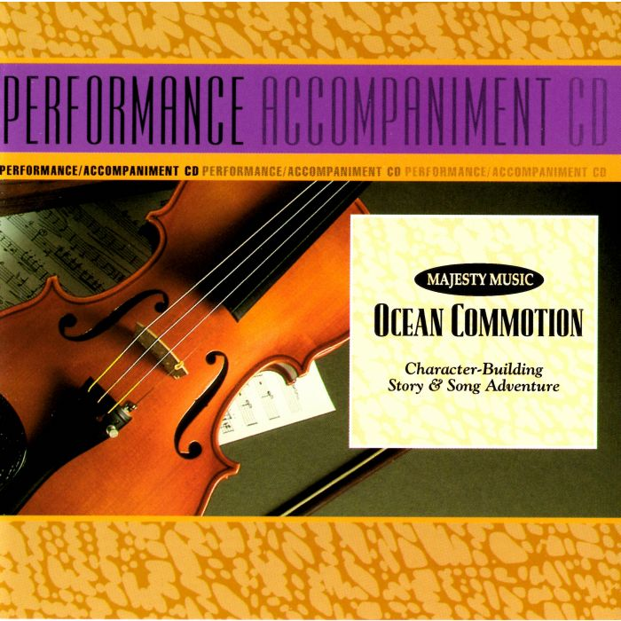 Ocean Commotion - SoundTrax CD