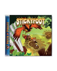 The Legend of Stickyfoot - CD