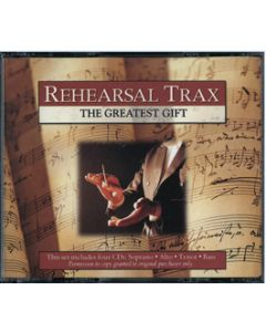 The Greatest Gift - Rehearsal Trax CDs (Set of 4)