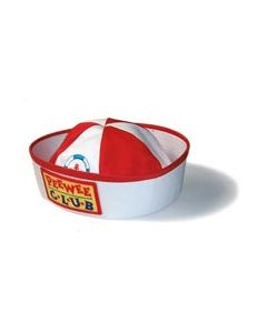 PeeWee Sailor Hat with Logo - Cannot ship Medial Mail.