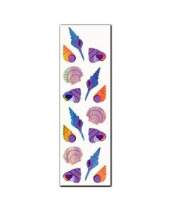 Shells Stickers/32 stickers (2 sheets per pack) - Cannot ship Media Mail.
