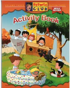 PeeWee Sailor Activity Book - Vol. 3