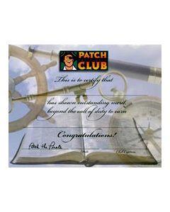 Outstanding Merit Certificate (Quantity: 1)