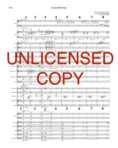 In God We Trust, In God Alone - Printable Orchestration - Printable Download