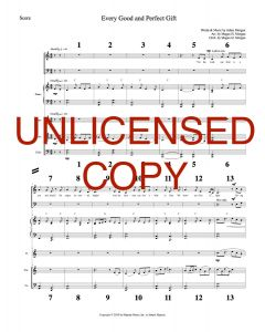 Every Good and Perfect Gift - Simply Majesty Orchestration - Printable Download