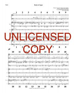 Rock of Ages - Printable Orchestration - Printable Download