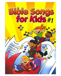 Bible Songs for Kids #1 - choral book