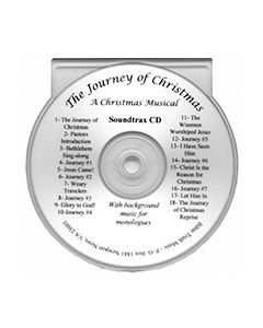 The Journey of Christmas - Accompaniment CD Trax