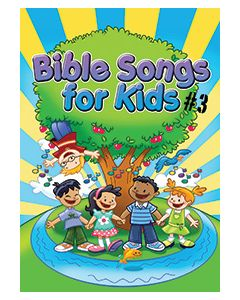 Bible Songs for Kids #3 - choral book