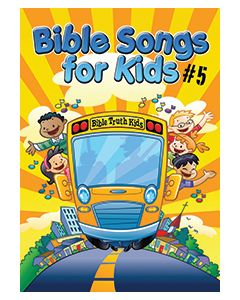 Bible Songs For Kids #5 - Songbook