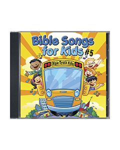 Bible Songs For Kids #5 - CD