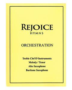 Rejoice Hymns - Orch: - Treble Clef Eb