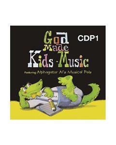 K4 - God Made Kids Music (CD #1)
