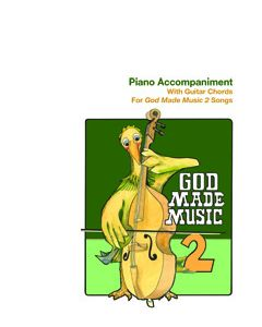 2nd Grade - God Made Music (Piano Accompaniment)