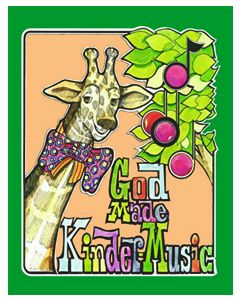 K5 - God Made Kindermusic (Student Book)
