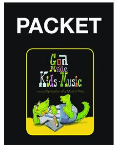 K4 - God Made Kids Music Bundle