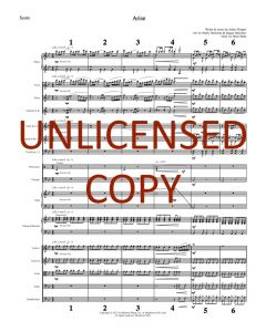 Arise - Printable Orchestration - Printable Download