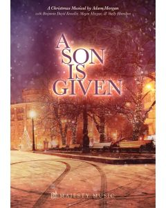 A Son Is Given - Spiral Choral Book (with Christmas scripts)