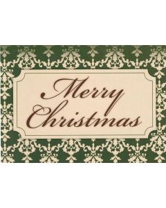 """Merry Christmas"" - 20 Holiday Cards and Envelopes"