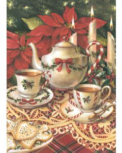 Teapot - 20 Holiday Cards and Envelopes