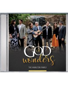 God of Wonders (Hamilton Family) - CD