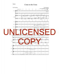Come to the Cross (Simply Majesty Version) - Printable Orchestration - Printable Download