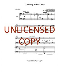 The Way of the Cross - Choral - Printable Download