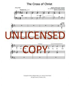 The Cross of Christ - Choral - Printable Download
