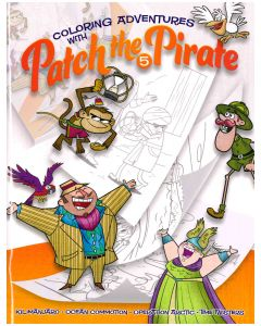 Patch the Pirate Coloring Book - Volume 5
