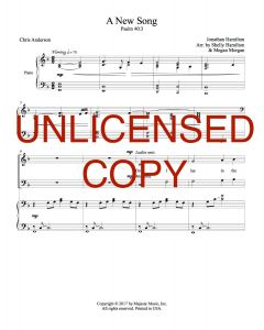 A New Song - Choral Octavo - Printable Download