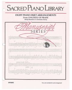 Manuscript Series: Eight Piano Duet Arrangements - Piano Sheet Music - Printable Download