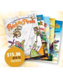 Patch the Pirate Coloring Book Bundle