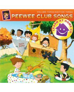 Peewee Club Songs - Learn at Home Vol. 3 (Digital Download)