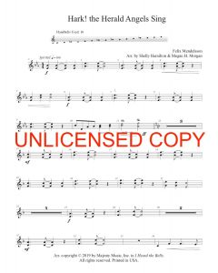 I Heard the Bells (entire collection) - Handbells - Printable Download