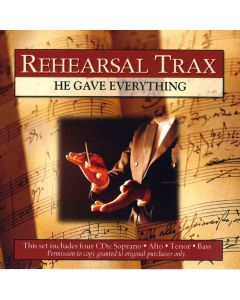 He Gave Everything - Rehearsal Trax (Digital Download)