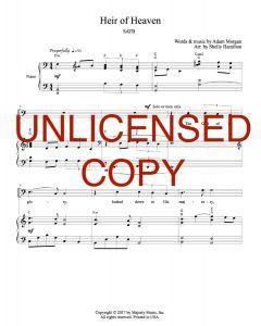 Heir of Heaven - SATB Choral Version - Printable Download