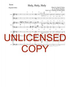Holy, Holy, Holy (Simply Majesty Version) - Printable Orchestration - Printable Download