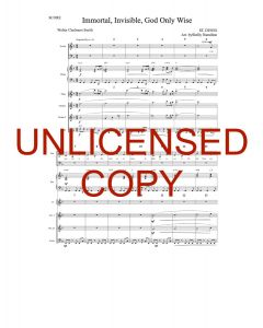 Immortal, Invisible (Simply Majesty Version) - Printable Orchestration - Printable Download