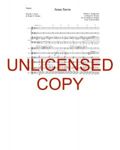 Jesus Saves (Simply Majesty Version) - Printable Orchestration - Printable Download