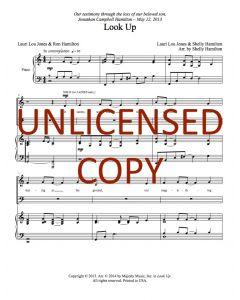 Look Up - Choral - Printable Download