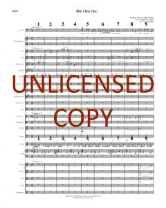 Only One Orchestration - Octavo Version - Printable Download
