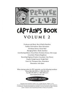 PEEWEE Vol. 2 - Preview - 1st Month Printable Download