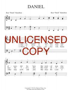 Daniel - Patch Praises Printable Song