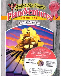 Pianoventures Vol. 2:2 Easy Book/CD