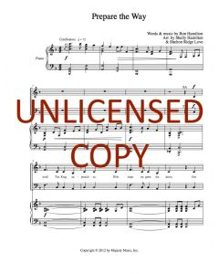 Prepare the Way - Choral - Printable Download