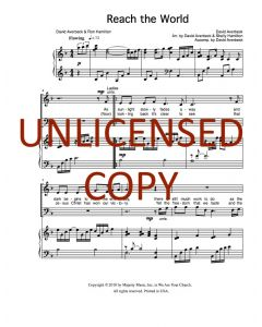 Reach the World - Choral - Printable Download