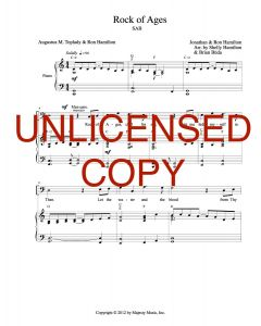 Rock of Ages (Simply Majesty) - Choral Octavo - Printable Download
