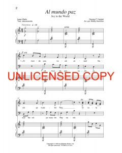 He Gave Everything (Cristo Todo Dio) - Spanish Choral Book (with Christmas script) - Printable Download
