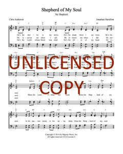 Shepherd of My Soul - Hymnal Style - Printable Download